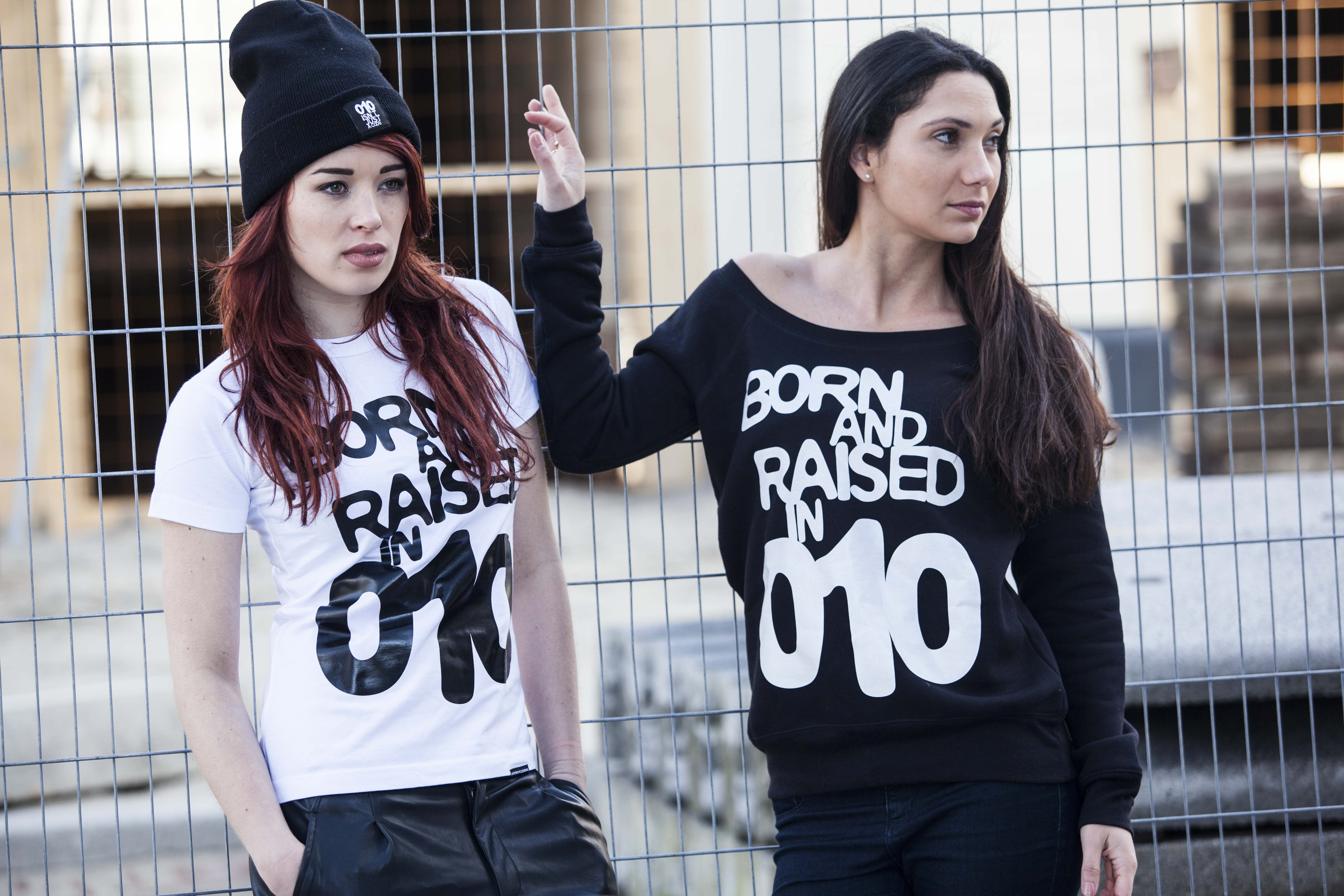 Born and Raised in 010 Sweater Nultien Kleding